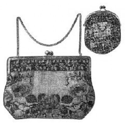 1913 Beaded Bag & Coin Purse Sewing Pattern
