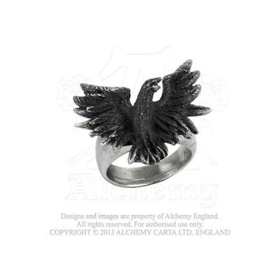 Flocking Raven Ring  by Alchemy Gothic, UK