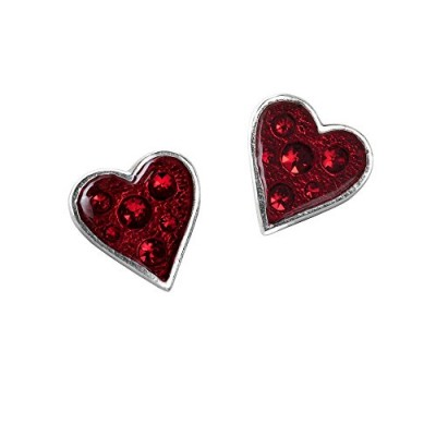 Heart's Blood Pair of Earrings by Alchemy Gothic