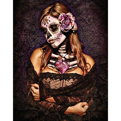 Day Of The Dead Poster Card by Daveed Benito 11 x 14in