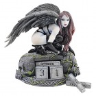 Design Toscano The Gothic Temptress of Time Perpetual Calendar Statue