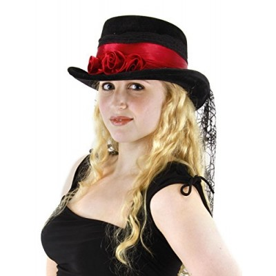 Gothic Rose Top Hat for Adults and Women by elope
