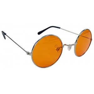 Steampunk Sunglasses with Atomic Orange Lenses By Morpheus®