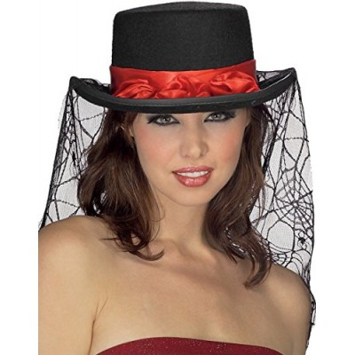 Gothic Rose Top Hat Adult