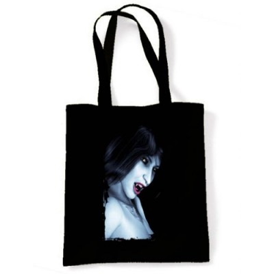 Tribal T-Shirt Women's Vampire Tote Shoulder Bag One Size Black