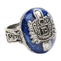Vampire Diaries Damon's Signet Ring - Costume Accessory Size 10